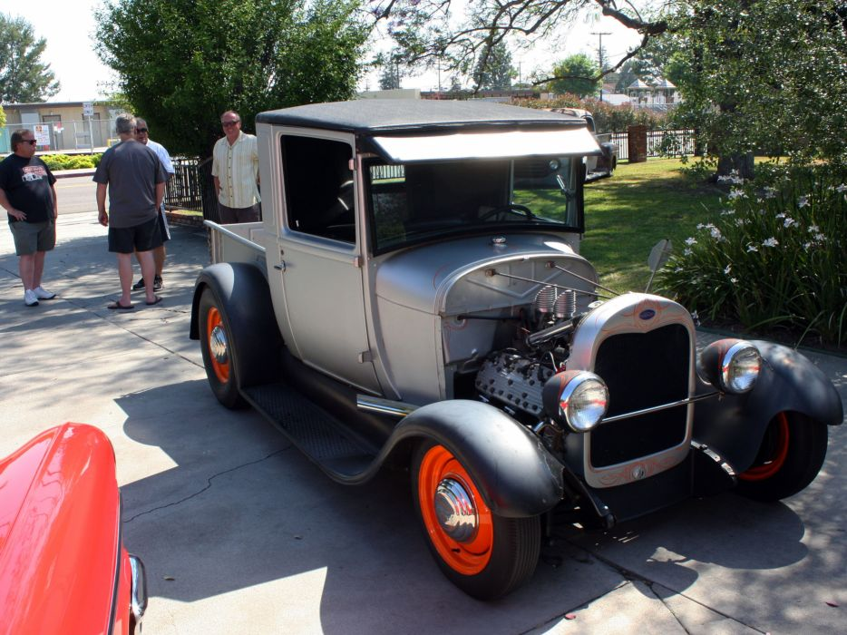 1928 Ford Pickup Model A Hotrod Hot Rod Old School Usa