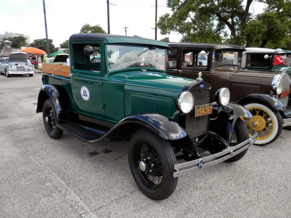 1930 Ford Model A Pickup Classic Old Vintage USA 1600x1200-01 wallpaper