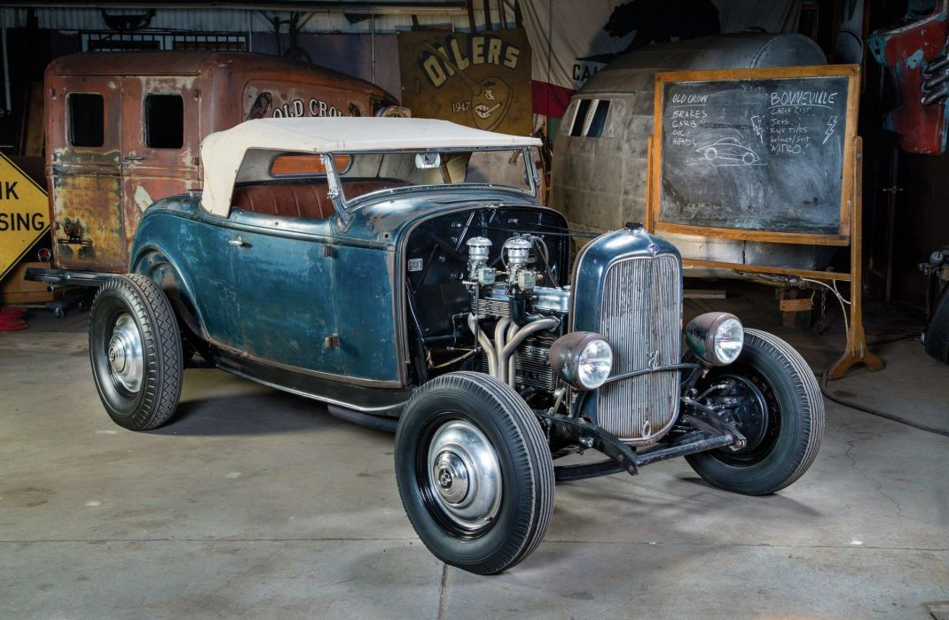 1932 Ford Coupe 3 Window Hotrod Hot Rod Old School USA 1600x1200-21 ...