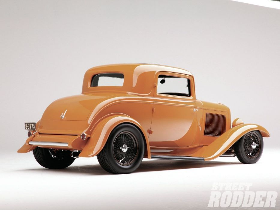 1932 Ford Coupe 3 Window Hotrod Hot Rod Streetrod Street USA 1600x1200-08 wallpaper