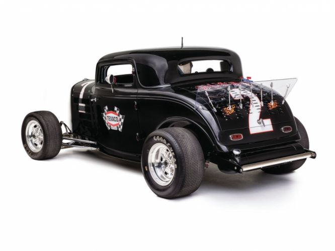 1932 Ford Coupe 3 Window Hotrod Hot Rod Streetrod Street USA 1600x1200-29 wallpaper