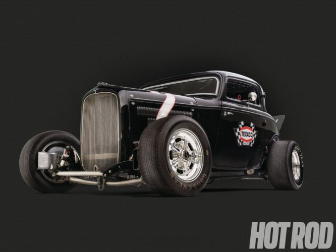 1932 Ford Coupe 3 Window Hotrod Hot Rod Streetrod Street USA 1600x1200-28 wallpaper