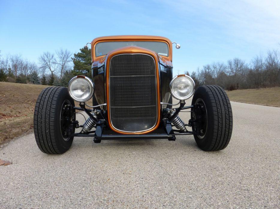 1932 Ford Coupe 3 Window Hotrod Hot Rod Streetrod Street USA 2560x1920-19 wallpaper