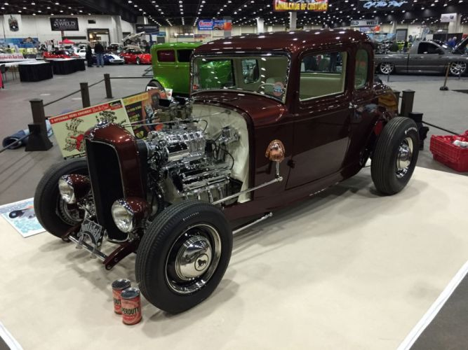 1932 Ford Coupe 5 Window Hotrod Hot Rod Old School USA 2048x1536-27 wallpaper