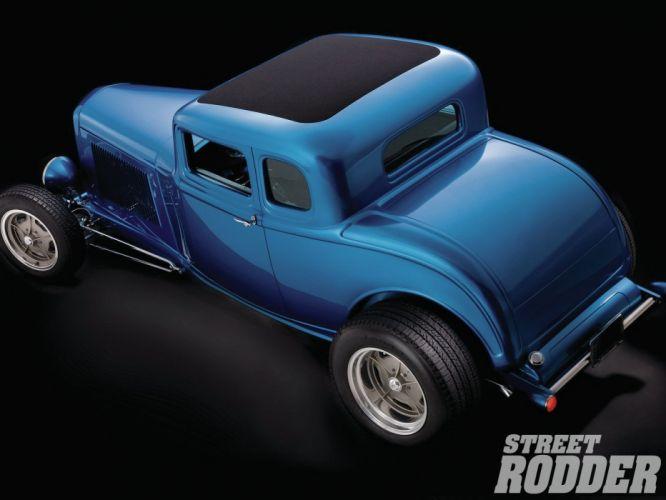 1932 Ford Coupe 5 Window Hotrod Hot Rod Streetrod Street USA 1600x1200-16 wallpaper