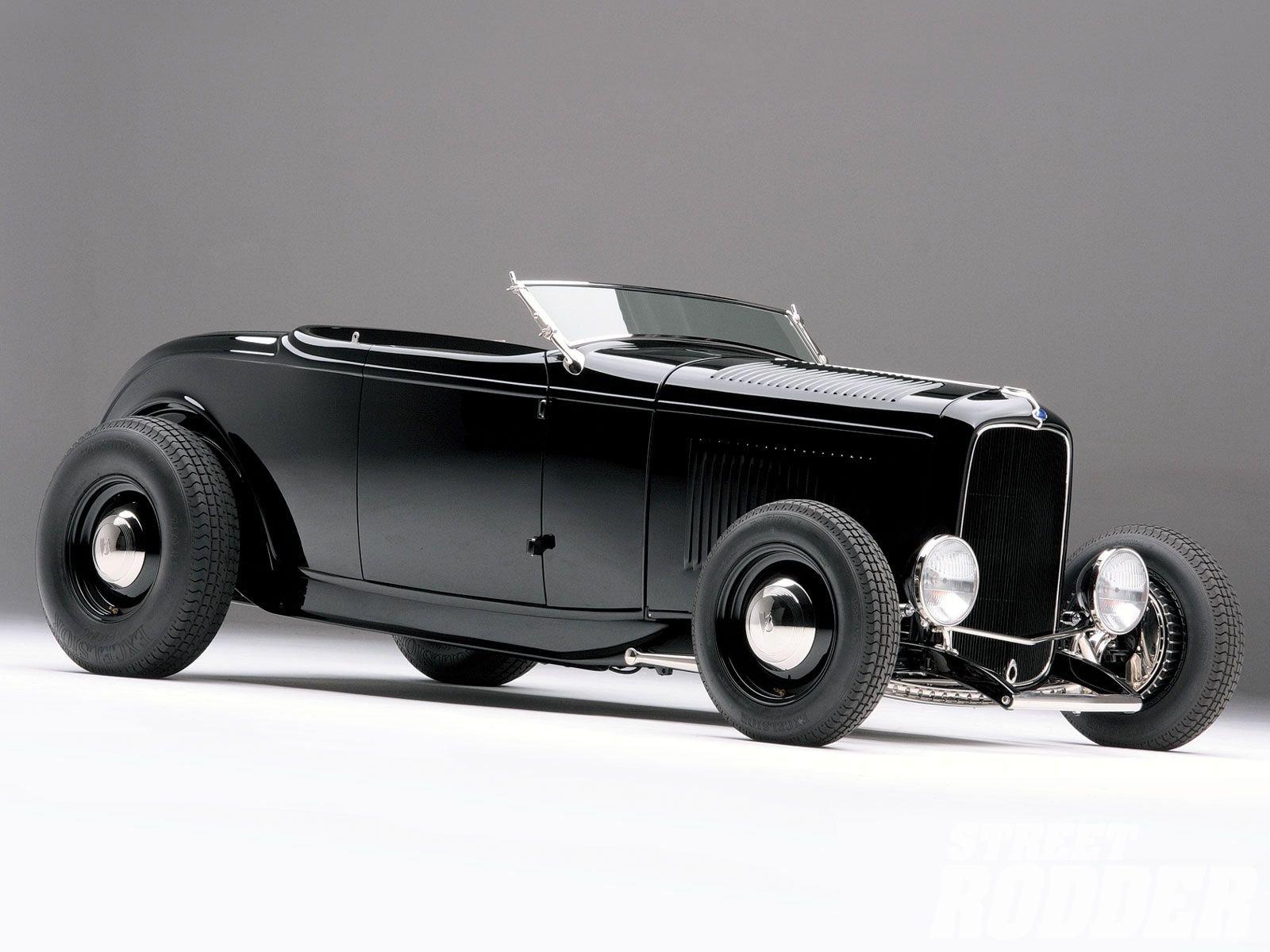 1932 Ford Roadster Hotrod Hot Rod Custom Old school USA 1600x1200 ...