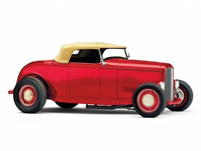 1932 Ford Roadster Hotrod Hot Rod Custom Old school USA 1600x1200-34 wallpaper