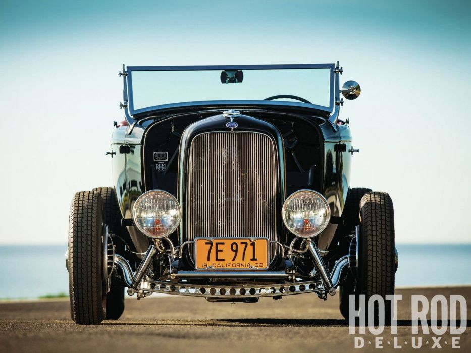 1932 Ford Roadster Hotrod Hot Rod Custom Old school USA 1600x1200-37 wallpaper