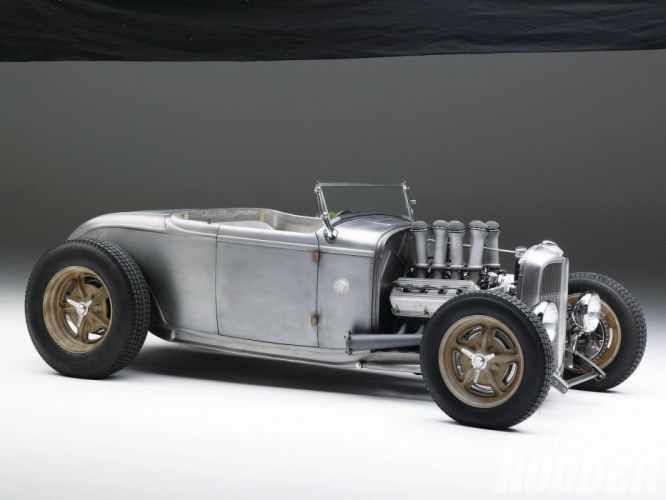 1932 Ford Roadster Hotrod Hot Rod Streetrod Street USA 1600x1200-08 wallpaper