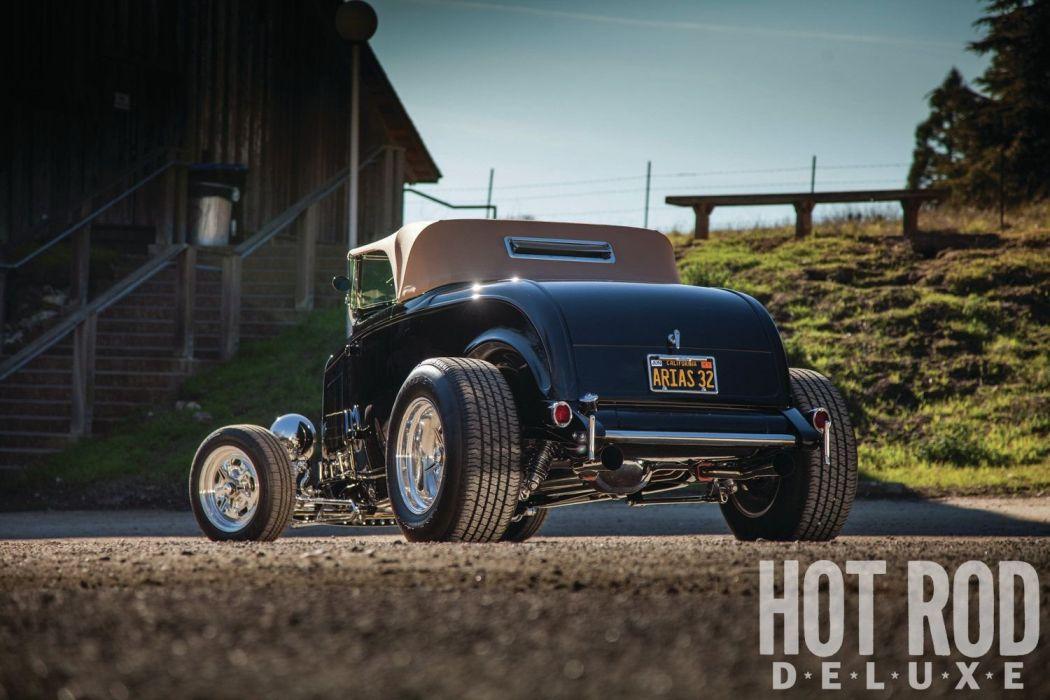 1932 Ford Roadster Hotrod Hot Rod Streetrod Street USA 1600x1200-25 wallpaper