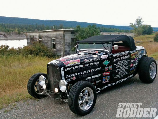 1932 Ford Roadster Hotrod Hot Rod Streetrod Street USA 1600x1200-20 wallpaper