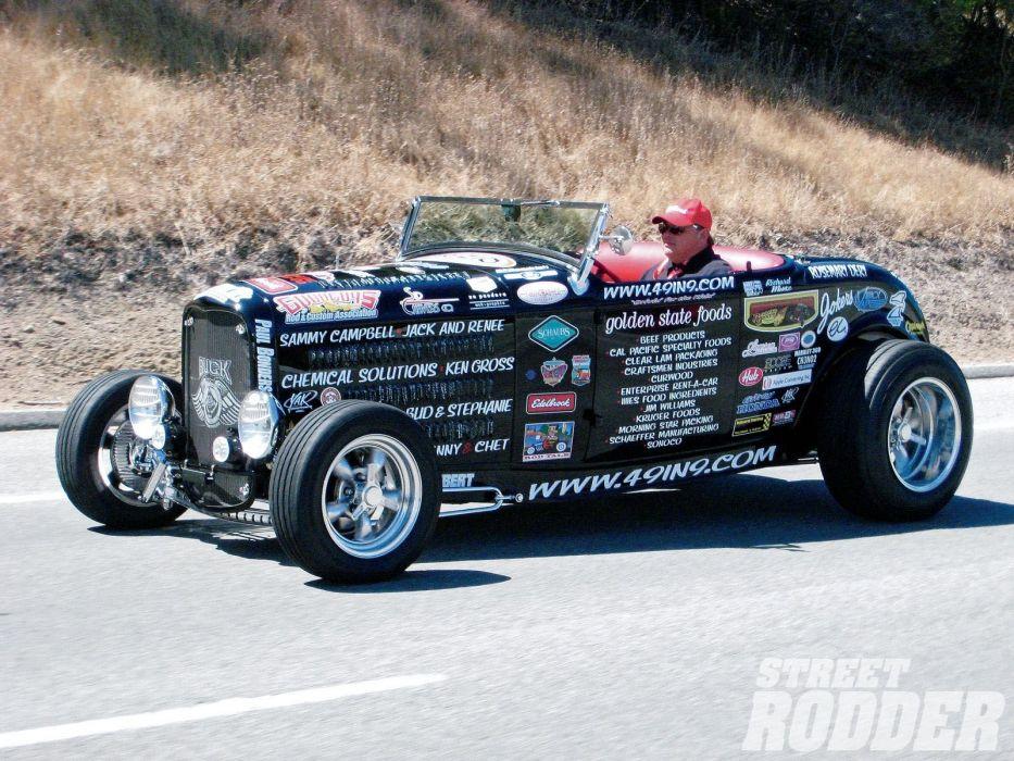 1932 Ford Roadster Hotrod Hot Rod Streetrod Street USA 1600x1200-22 wallpaper