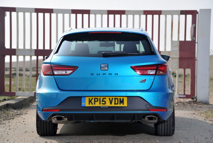 Seat Leon ST Cupra 280 UK-spec cars wagon 2015 wallpaper