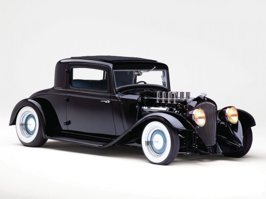 1932 Plymouth Coupe Hotrod Hot Rod Custom Old school USA 1600x1200-01 wallpaper