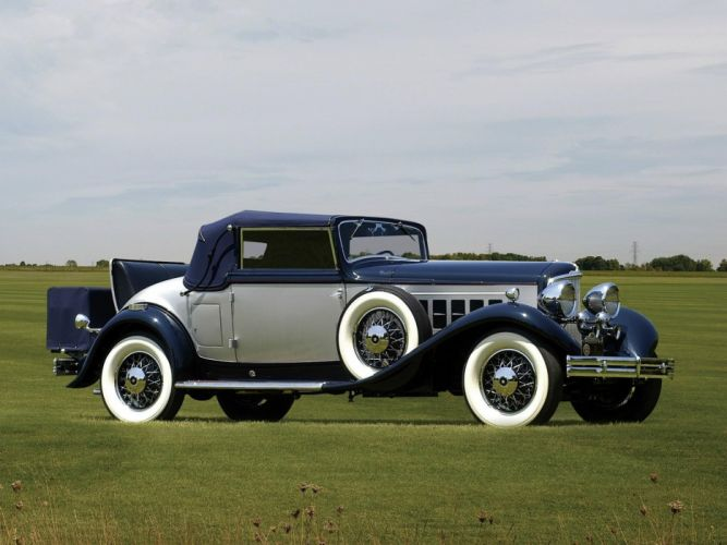 1932 Reo Royale Convertible Classic Old Retro Vintage 2000x1500-01 wallpaper
