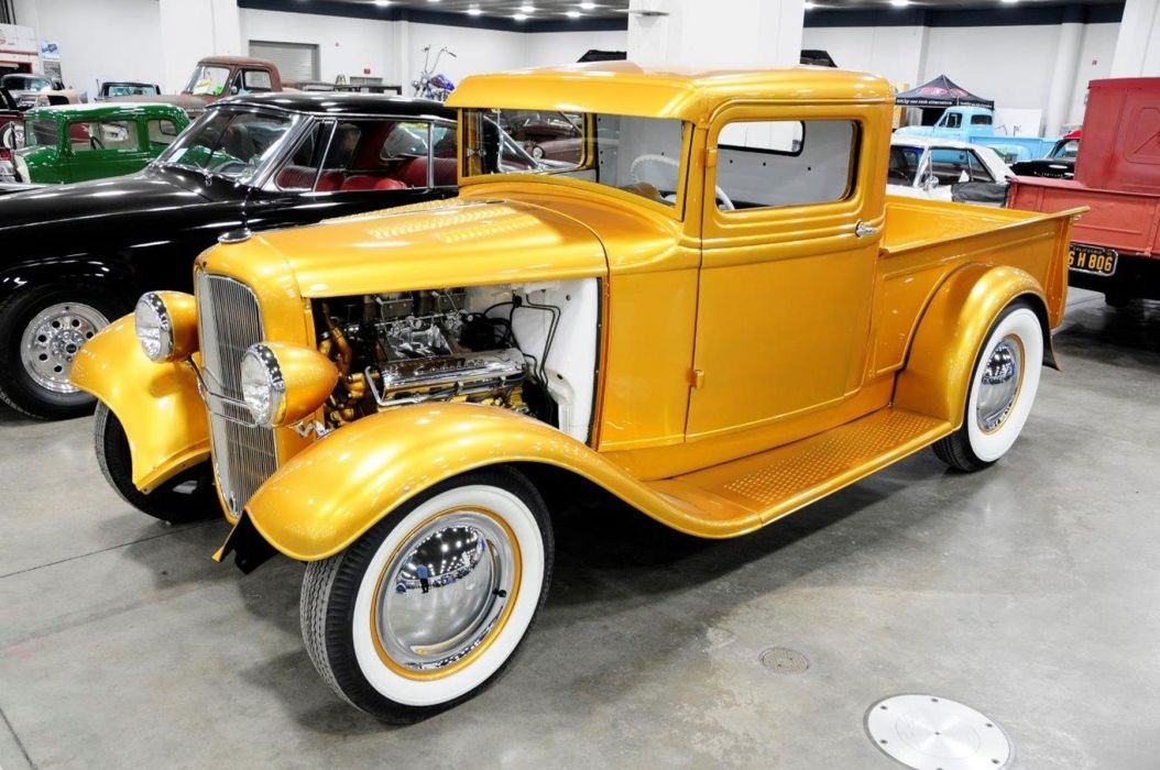 1933 Ford Pickup Roadster Hotrod Hot Rod Custom Old school USA ...
