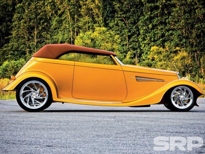 1933 Ford Phaeton Roadster Hotrod Hot Rod Streetrod Street USA 1600x1200-04 wallpaper