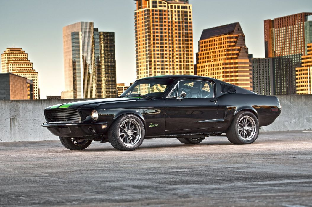 1968 Ford Mustang gt classic cars wallpaper