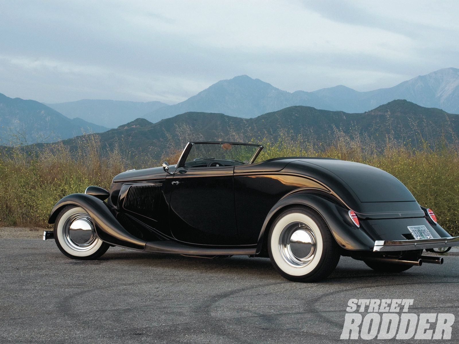 Old Ford Cars >> 1933 Ford Roadster Hotrod Hot Rod Custom Old school USA 1600x1200-06 wallpaper | 1600x1200 ...