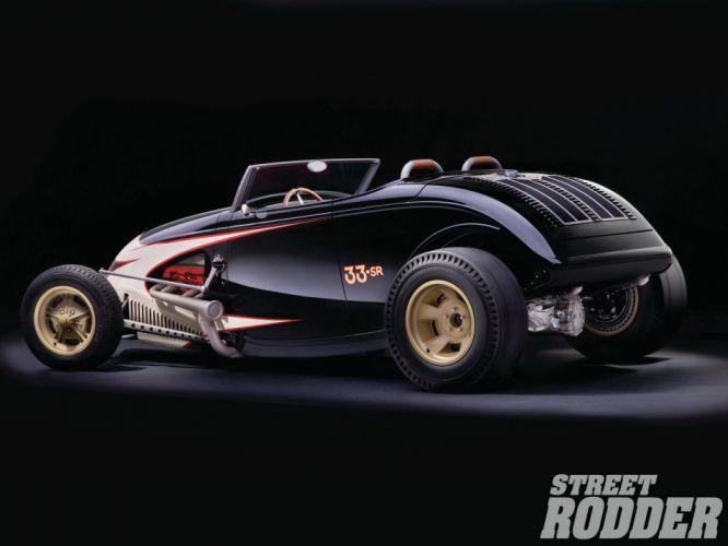 1933 Ford Roadster Hotrod Hot Rod Streetrod Street USA 1600x1200-04 wallpaper
