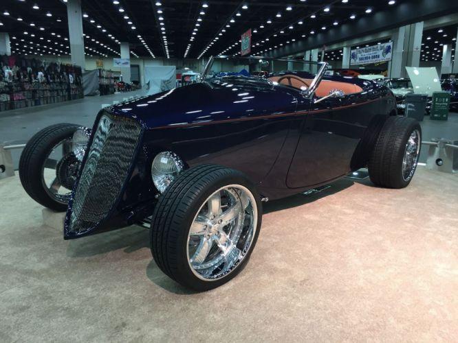 1933 Ford Roadster Hotrod Hot Rod Streetrod Street USA 1800x1350-19 wallpaper