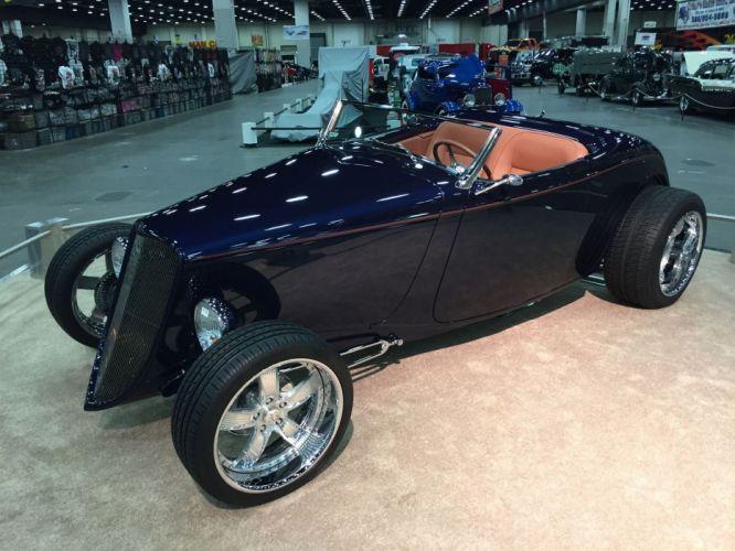 1933 Ford Roadster Hotrod Hot Rod Streetrod Street USA 1800x1350-17 wallpaper