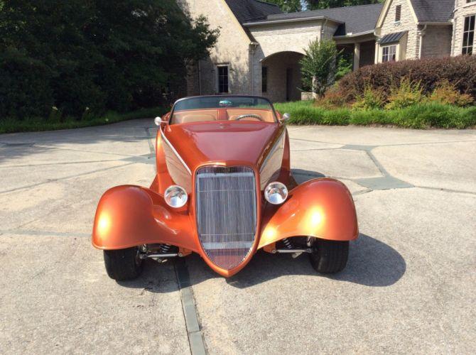 1933 Ford Roadster Hotrod Hot Rod Streetrod Street USA 2200x1634-07 wallpaper