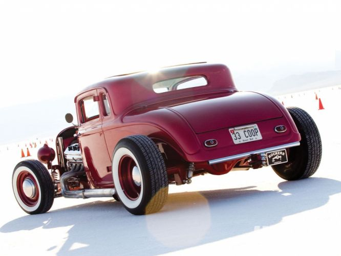 1933 Plymouth Coupe 3 Window Hotrod Hot Rod Old School USA 1600x1200-02 wallpaper