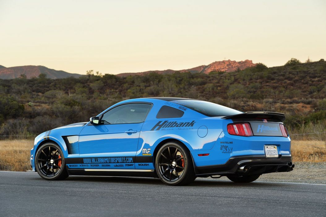 Modified 2012 Grabber Blue Ford Mustang gt cars wallpaper