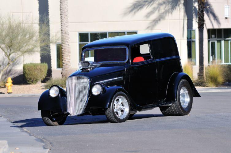 1933 Willys Sedan Delivery Street Rod Hot Streetrod USA 4288x2848-01 wallpaper