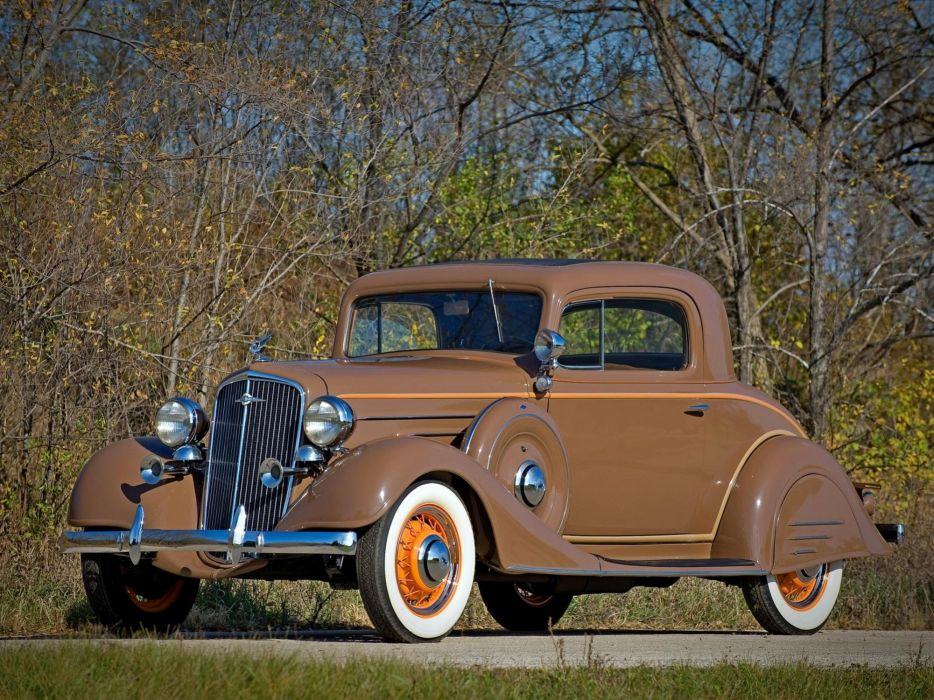 1934 Chevrolet Master Coupe Classic Old Retro Vintage USA 2000x1500 wallpaper
