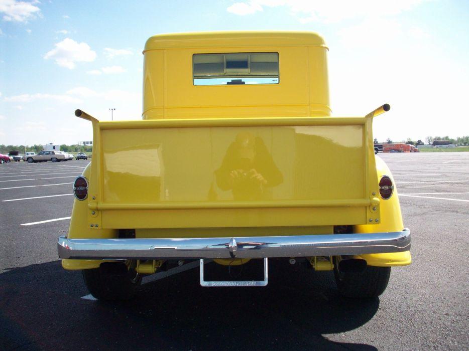 1934 Chevrolet Pickup Hotrod Streetrod Hot Rod Street Yellow USA 3000x2250-07 wallpaper