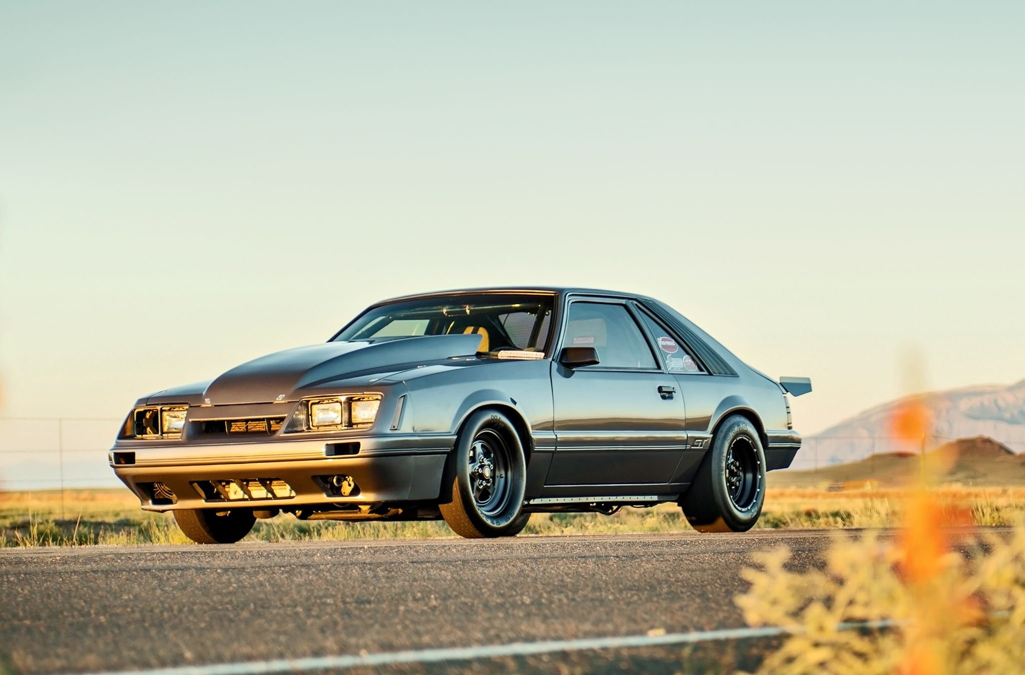 1986 Ford Mustang GT modified cars wallpaper | 2048x1350 ...