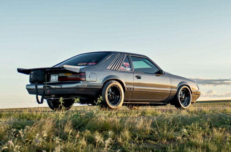 1986 Ford Mustang GT modified cars wallpaper
