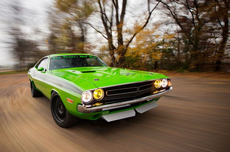 1971 Dodge Challenger modified cars wallpaper