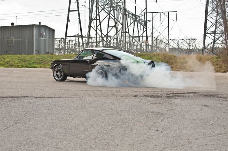 1968 Ford Mustang GT Fastback Eletric Muscle Hotrod Streerod Hot Rod-Street USA 2048x1360-11 wallpaper