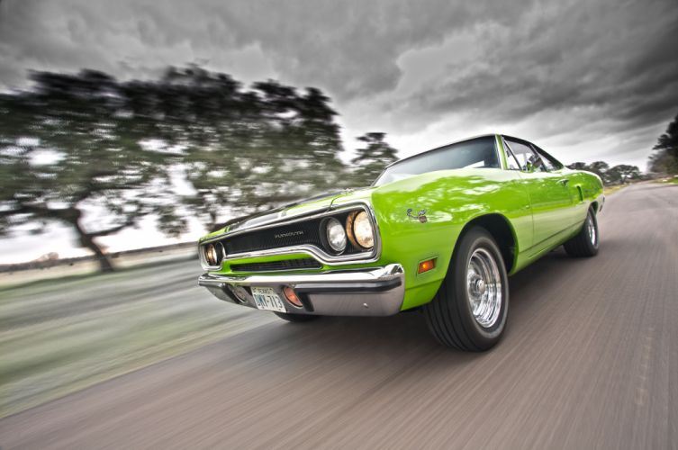 1970 Plymouth Road Runner classic cars wallpaper