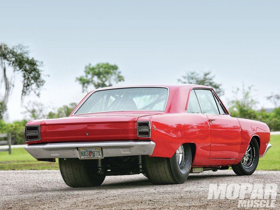 1968 Dodge Dart pro street cars wallpaper