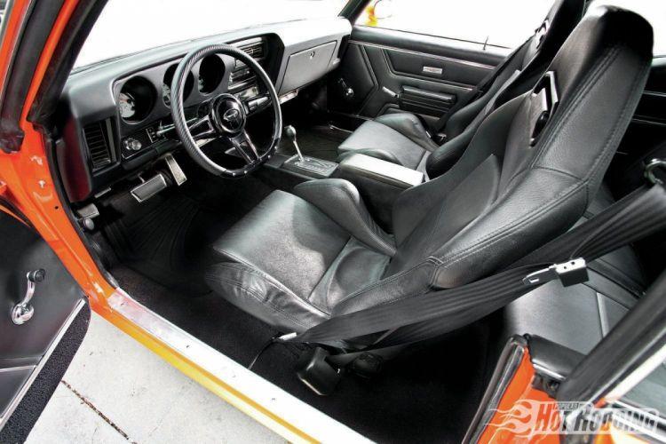 1969 Pontiac GTO Pro Touring cars classic wallpaper