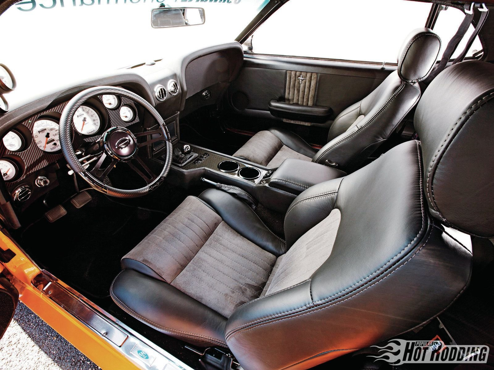 1969 ford mustang coupe pro touring cars classic wallpaper 1600x1200 662504 wallpaperup - 1969 Ford Mustang Interior