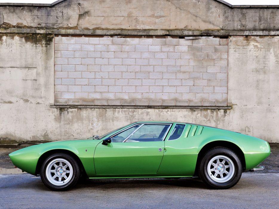 De Tomaso Mangusta cars classic 1967 wallpaper