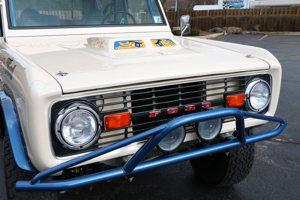 1974 Ford Bronco 4x4 Off Road Fou Wheel Drive Offroad USA 6000x4000-06 wallpaper