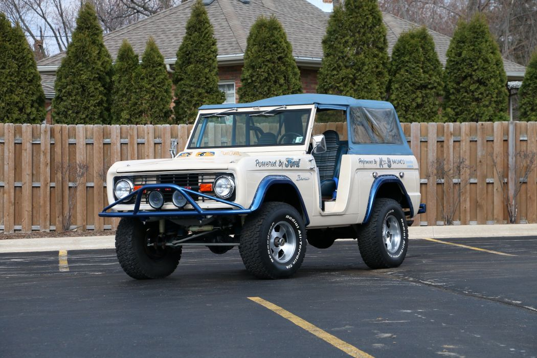 1974 Ford Bronco 4x4 Off Road Fou Wheel Drive Offroad USA 6000x4000-02 wallpaper
