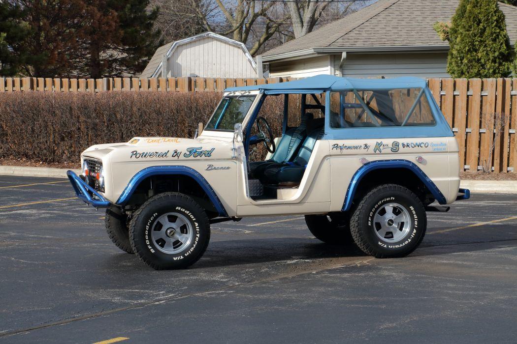 1974 Ford Bronco 4x4 Off Road Fou Wheel Drive Offroad USA 6000x4000-03 wallpaper