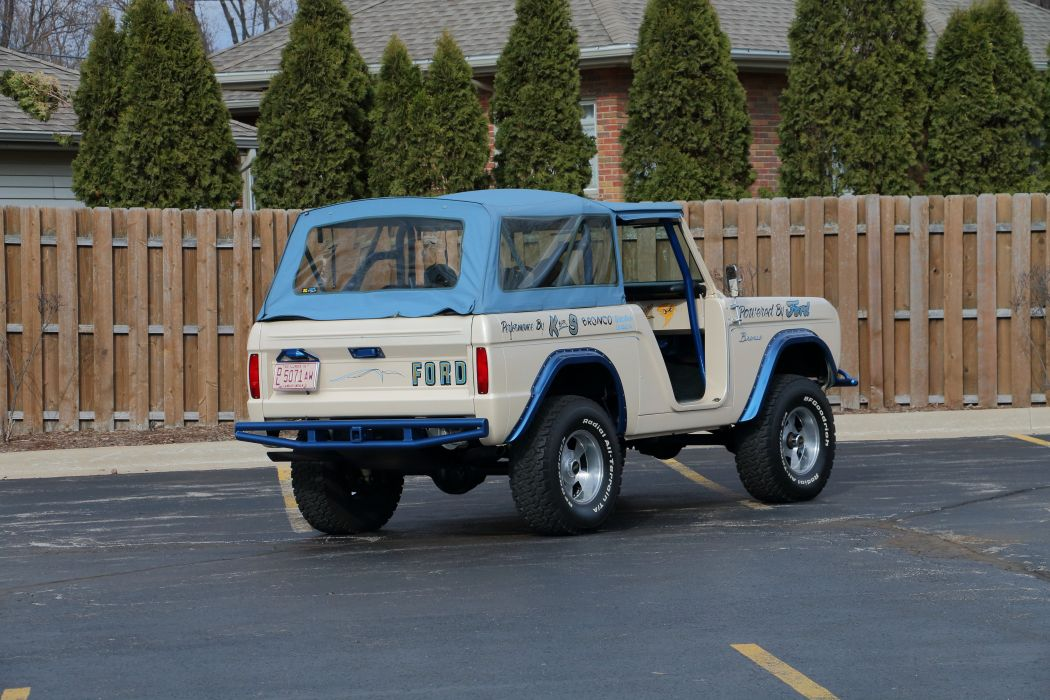 1974 Ford Bronco 4x4 Off Road Fou Wheel Drive Offroad USA 6000x4000-04 wallpaper