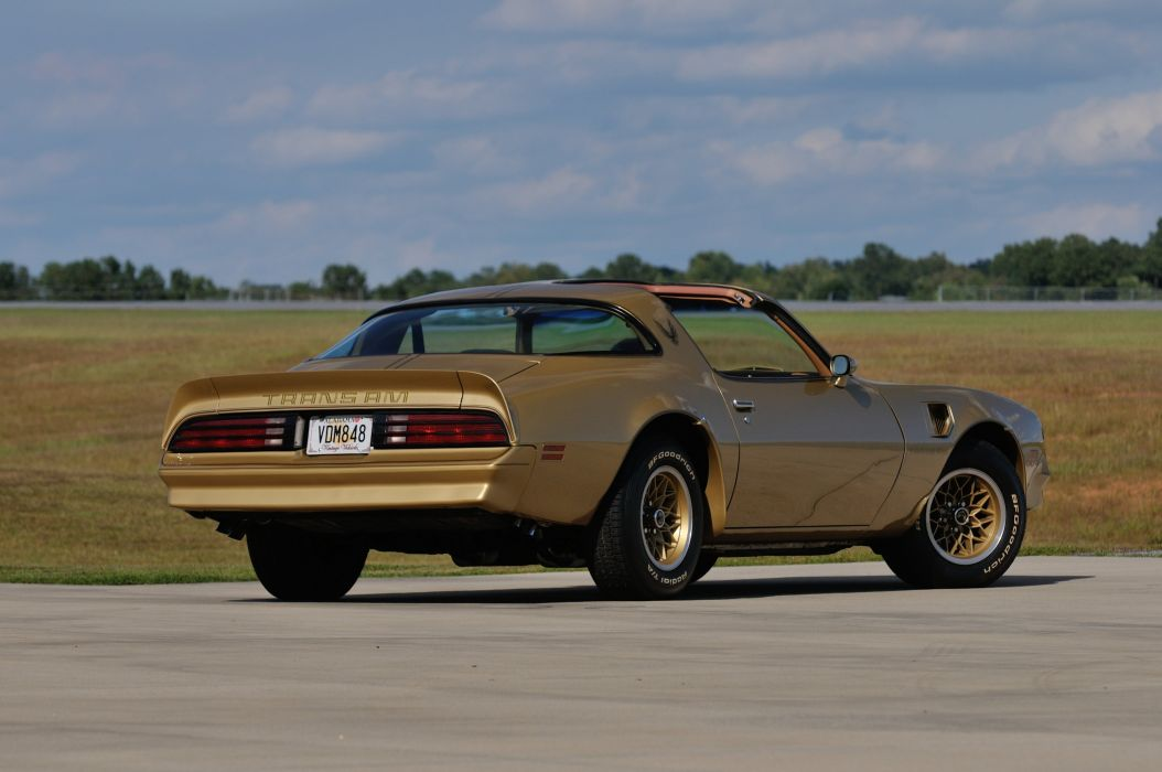 1978 Pontiac Trans Am Muscle Classic Old USA 4200x2790-03 wallpaper