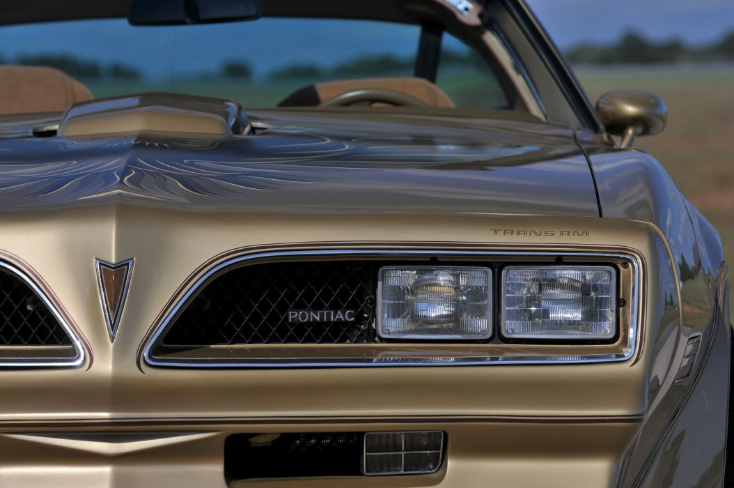 1978 Pontiac Trans Am Muscle Classic Old USA 4200x2790-06 wallpaper