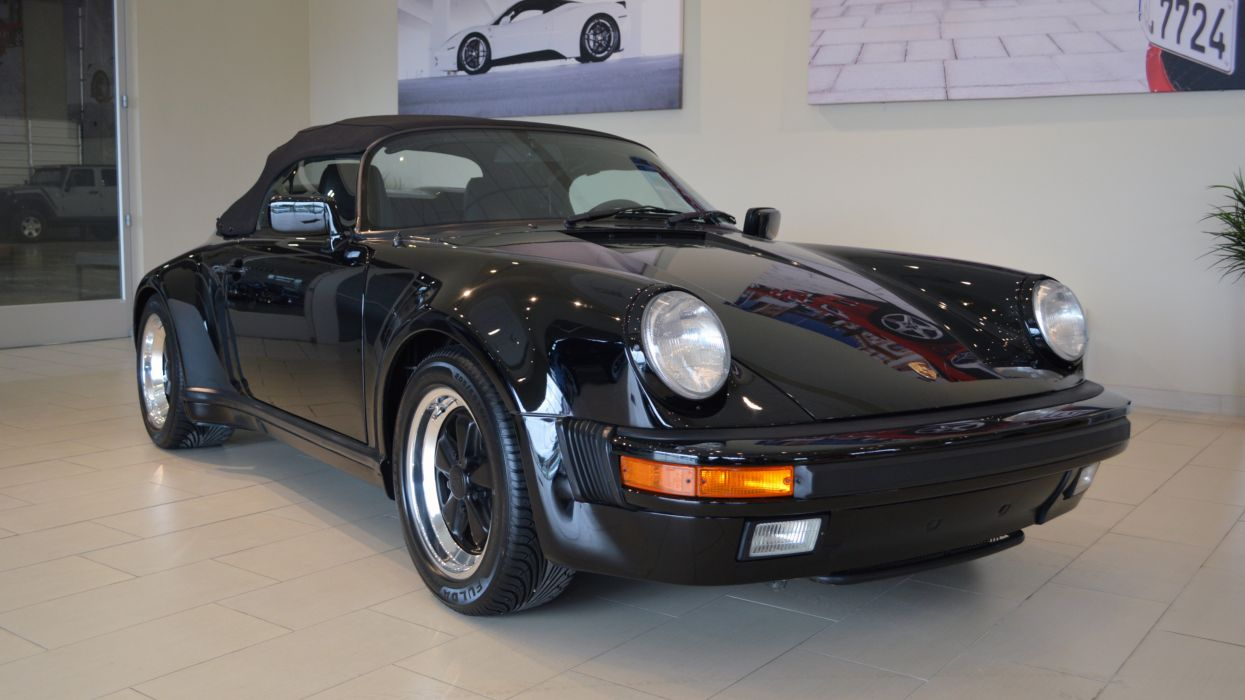 1989 Porsche 911 Speedster Germany 4512x2538-01 wallpaper