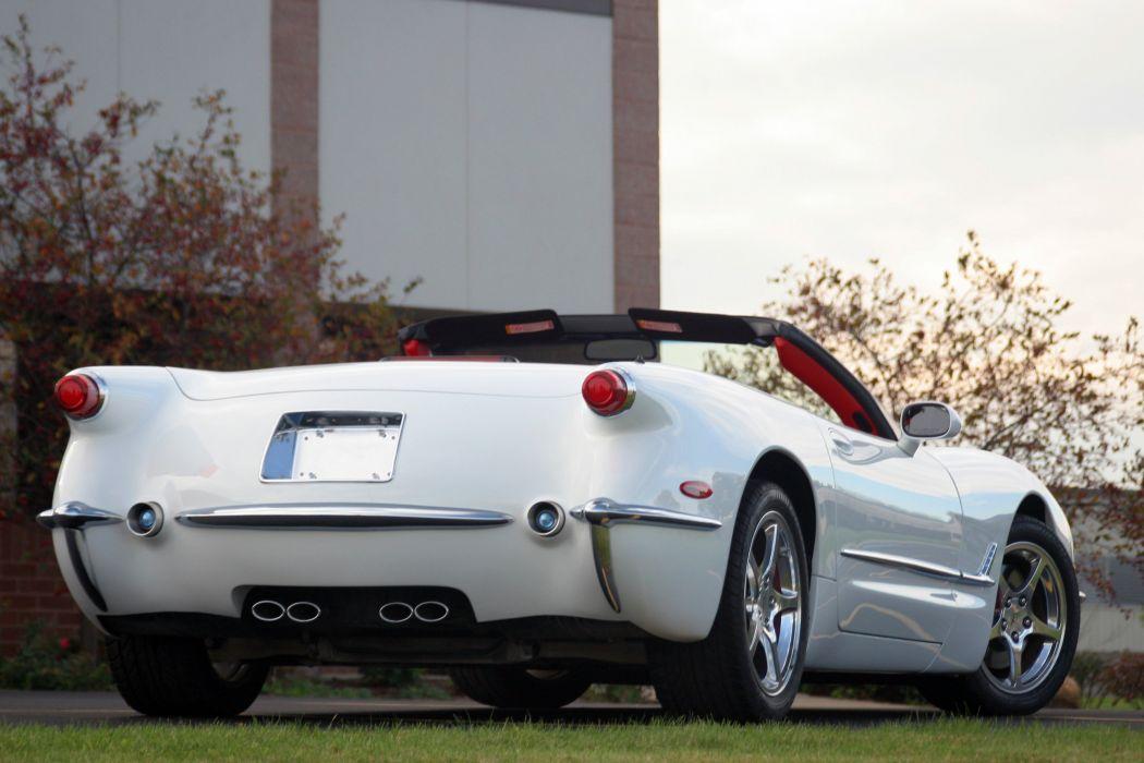 2003 Chevrolet Corvette Commemorative Edition Convertible White Muscle Special USA 3072x2048-04 wallpaper