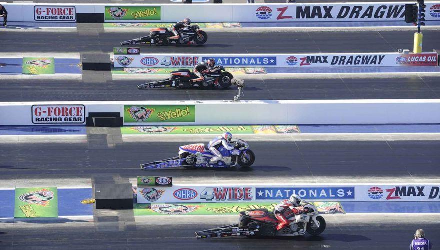 NHRA drag racing race hot rod rods motorcycle bike motorbike h wallpaper